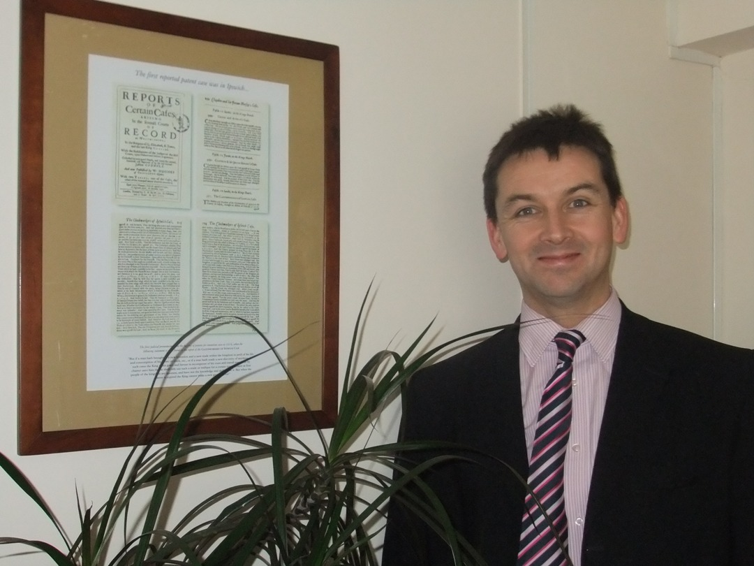 Nick Jackson, patent attorney and the Ipswich case