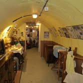 Inside the Clifford Road air raid shelter museum