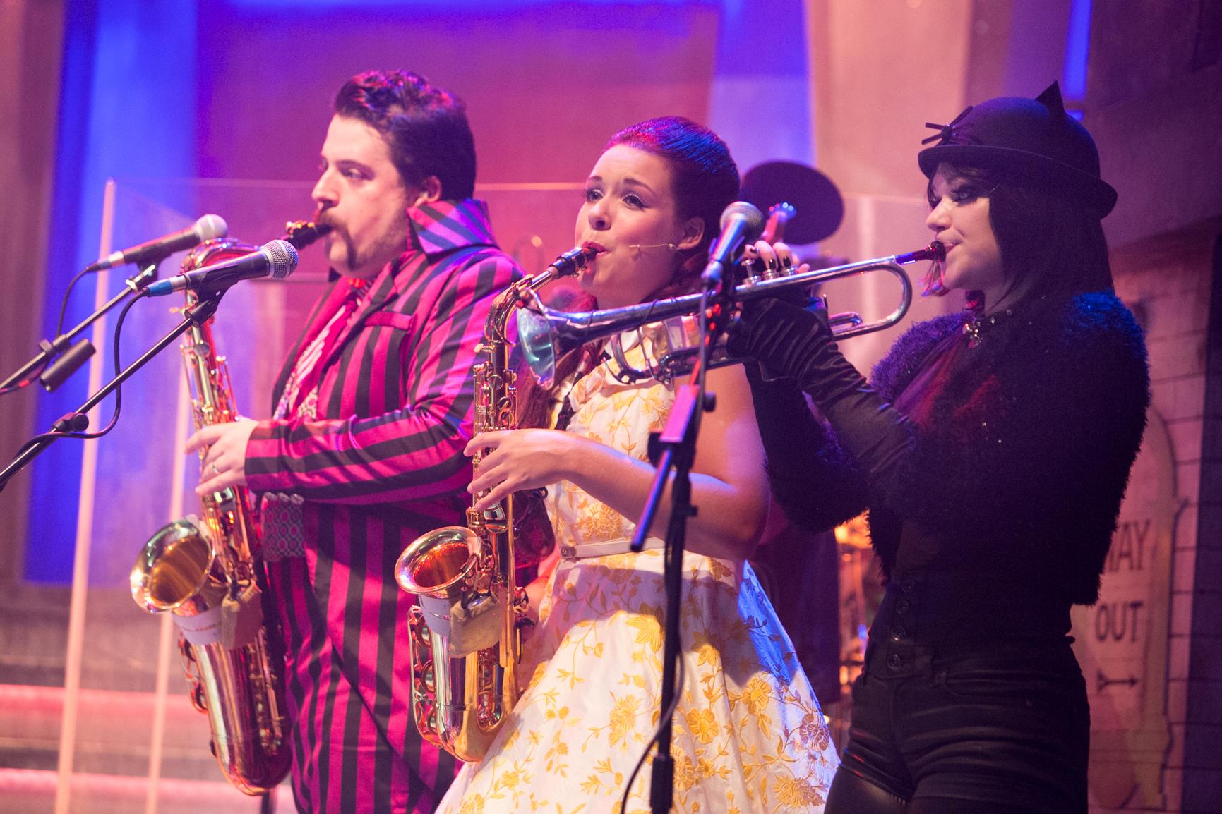 L-R Jofre Alsina, Nicola Hawkins, CiCi Howells