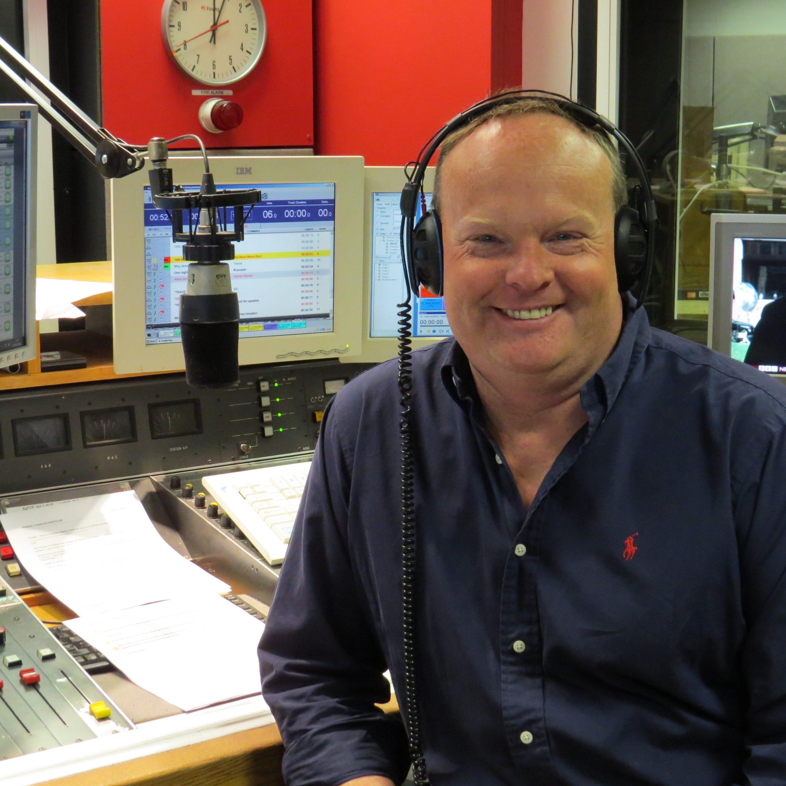Mark Murphy, presenter of Mid Morning show on BBC Radio Suffolk
