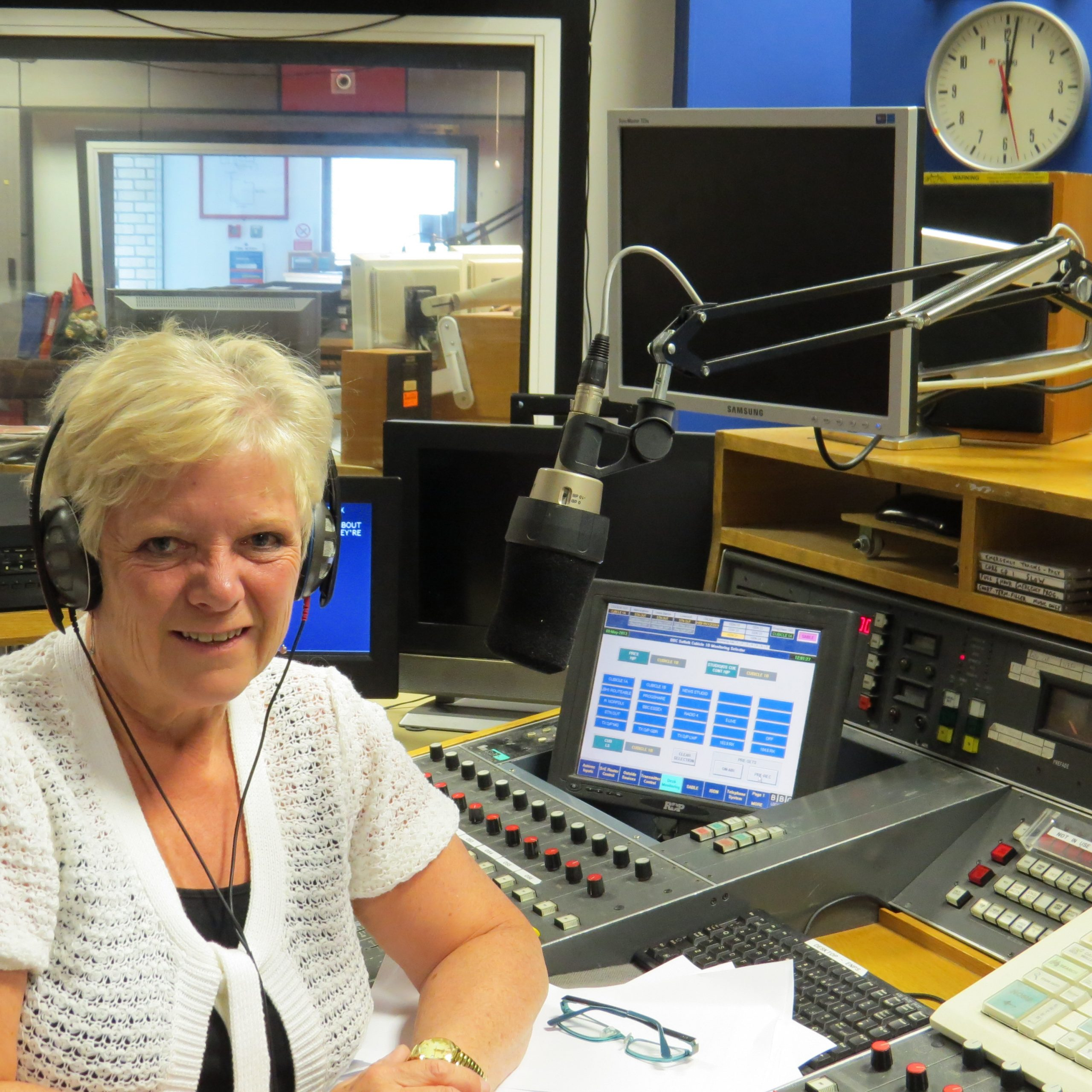 Rachel at BBC Radio Suffolk