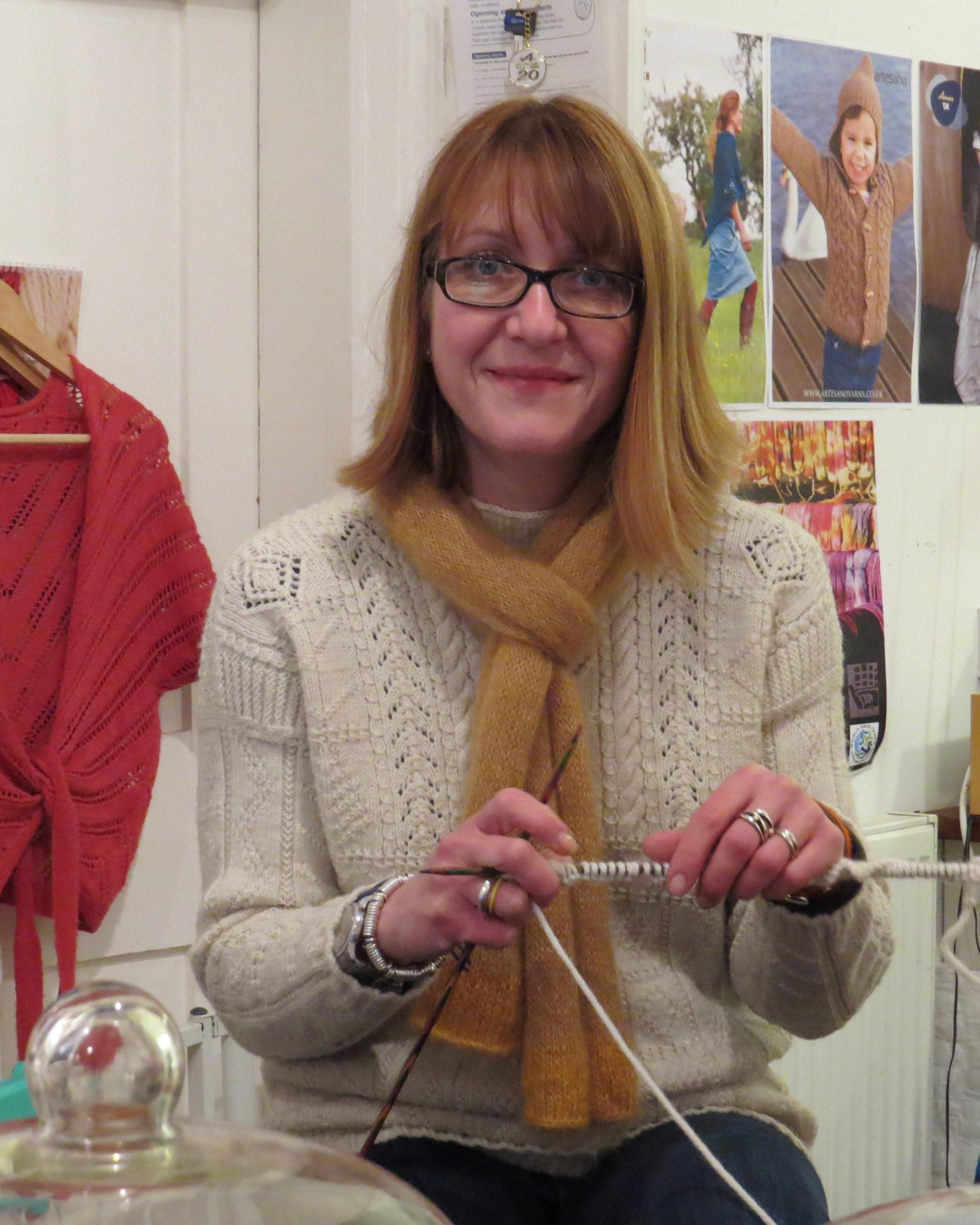 Victoria from Cafe Knit in Lavenham