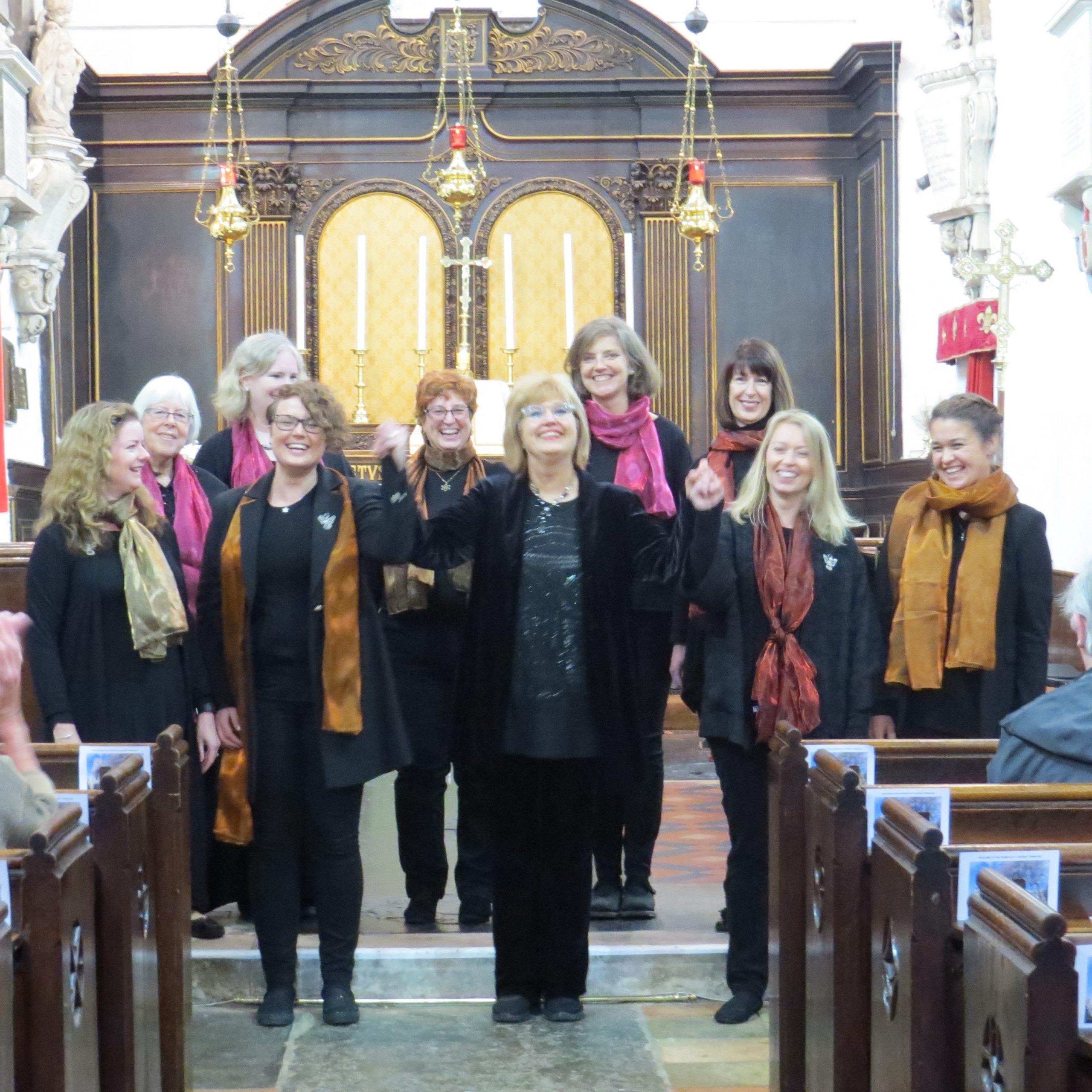 Full choir 1 small