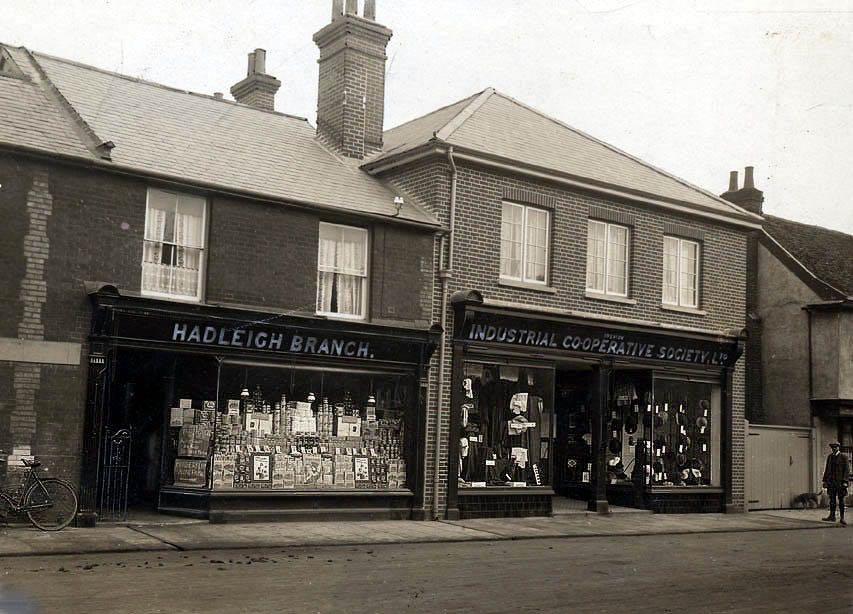 The original Haleigh Co-op store