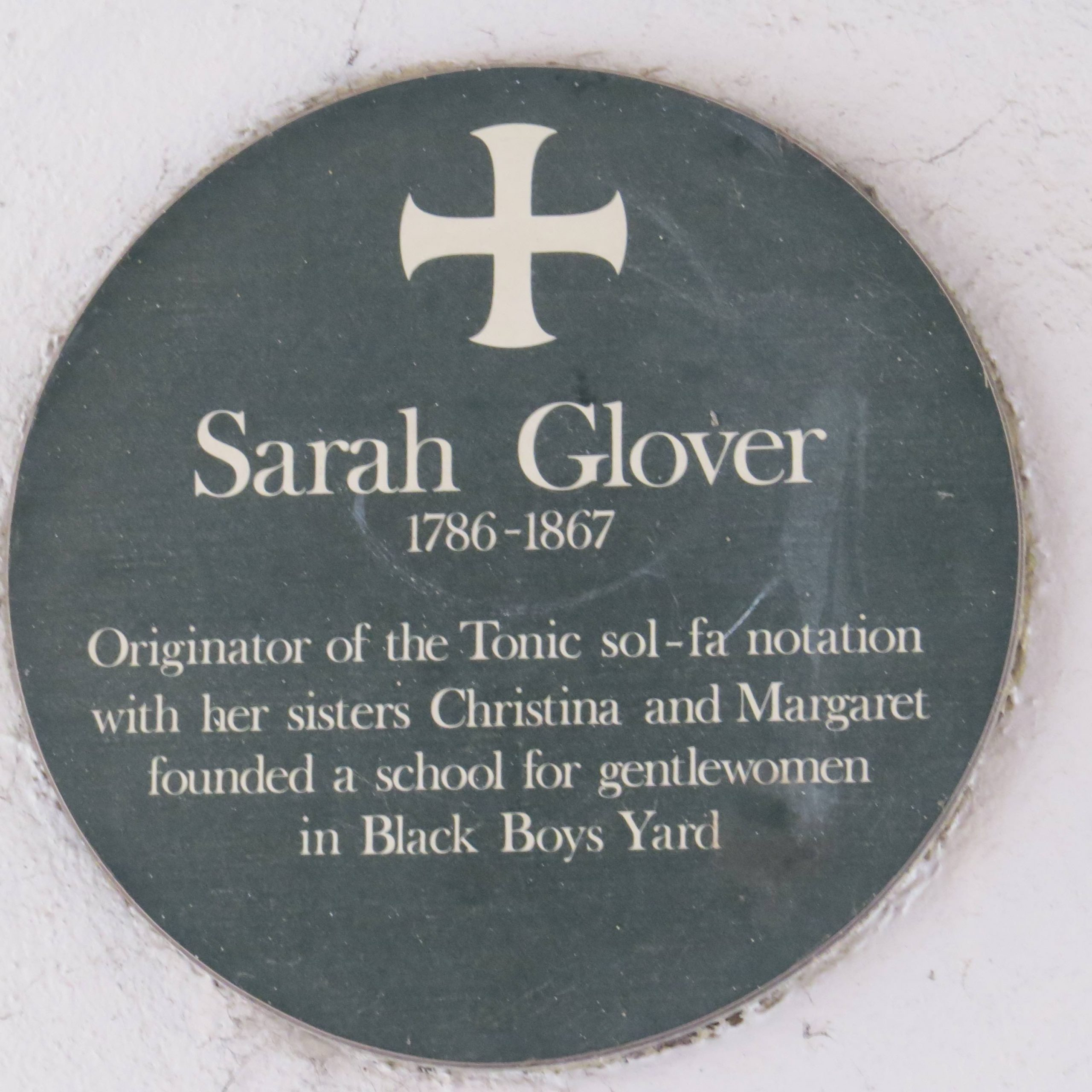 Norwich Sarah Glover Tonic sol-far small