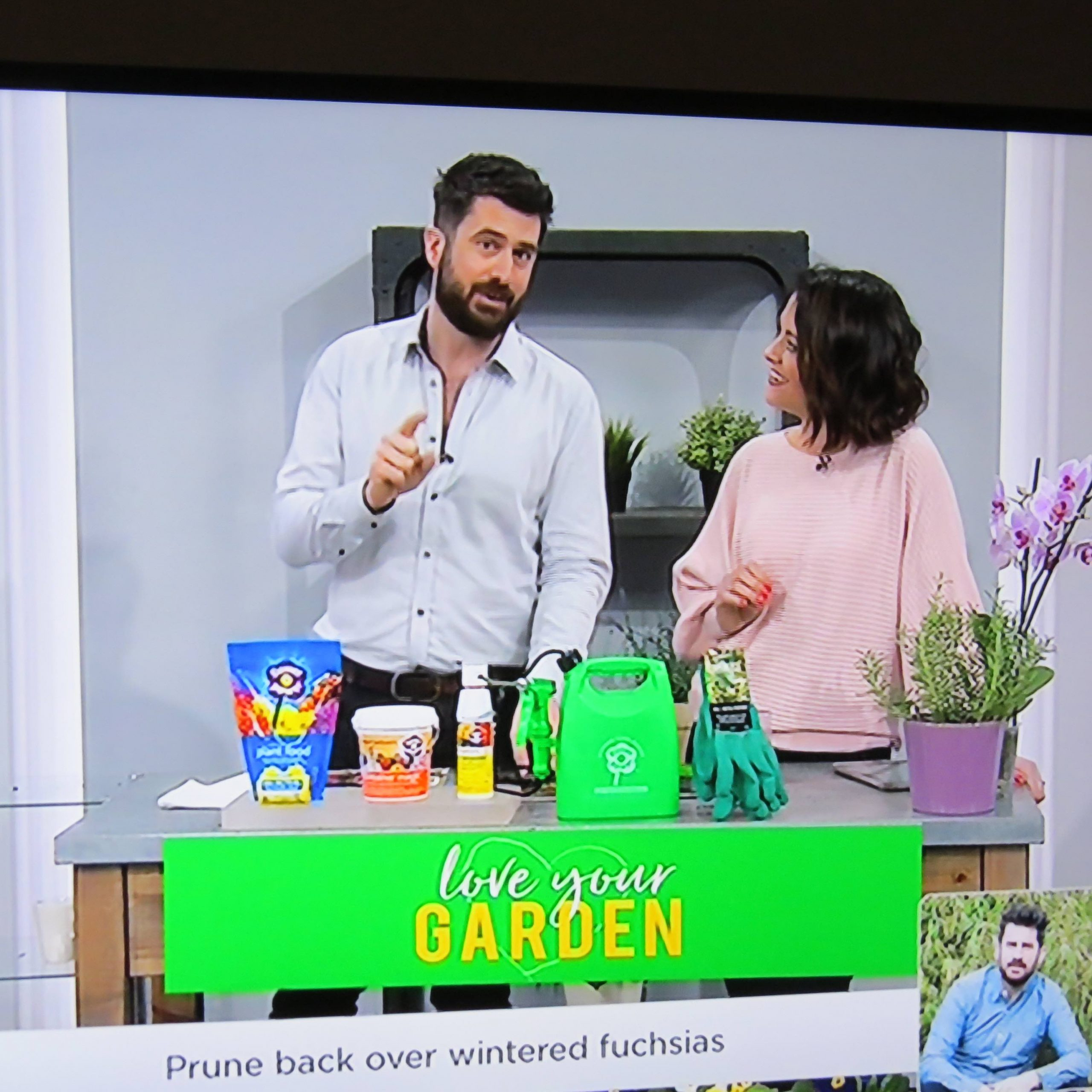 Michael Perry on GVC shopping channel
