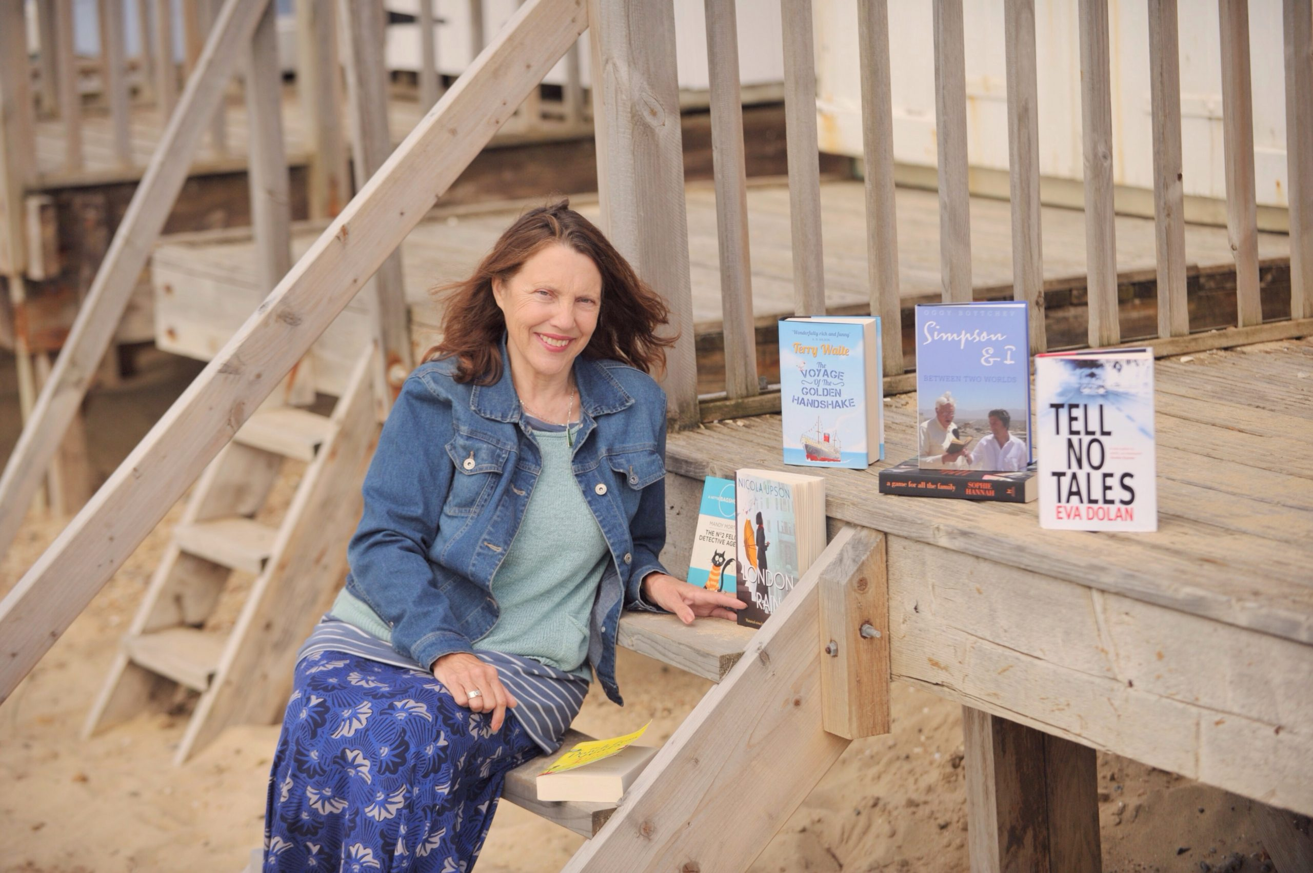 Meg Reid, Founder of Felixstowe Book Festival