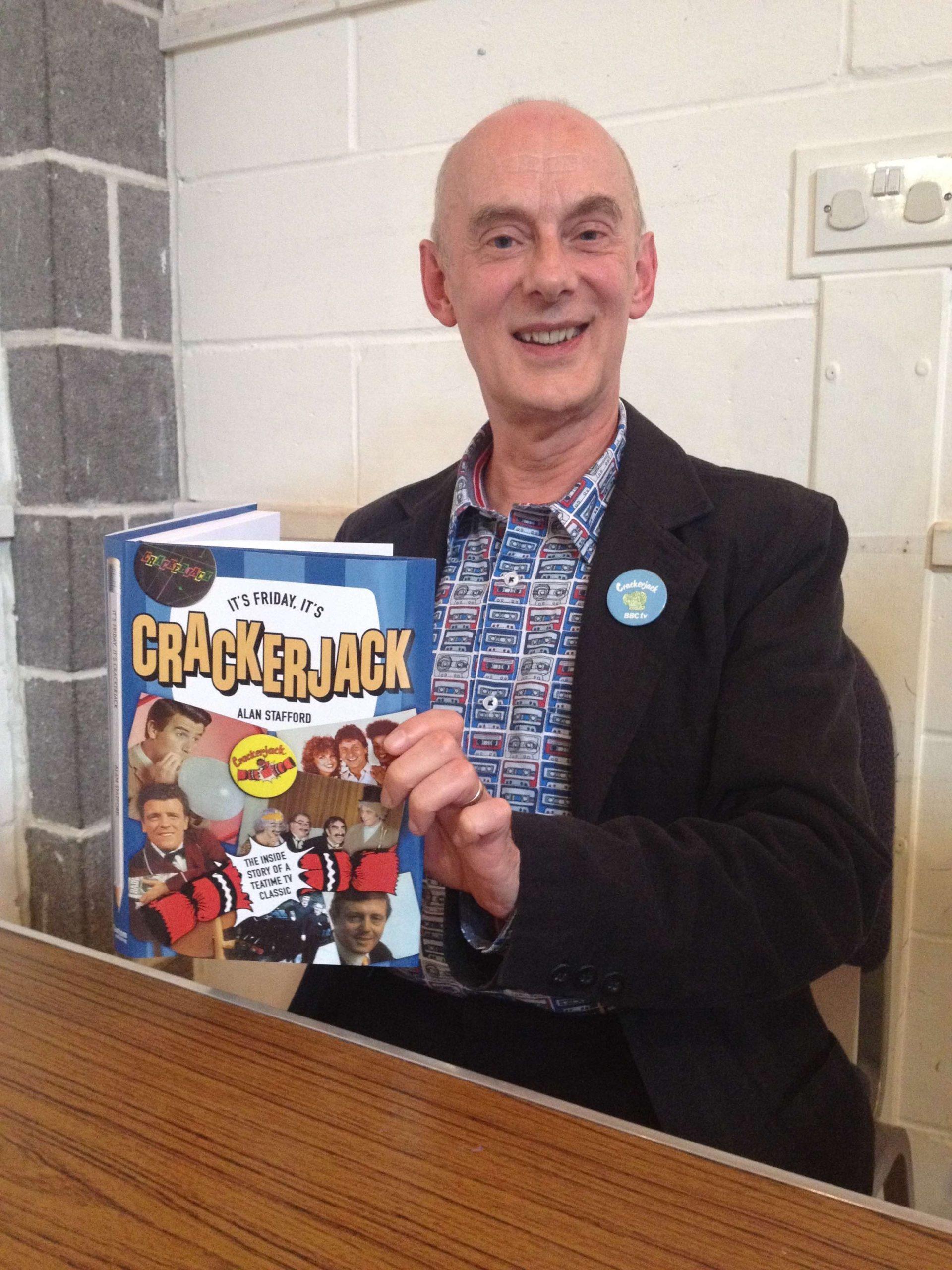 Alan Stafford Crackerjack book launch