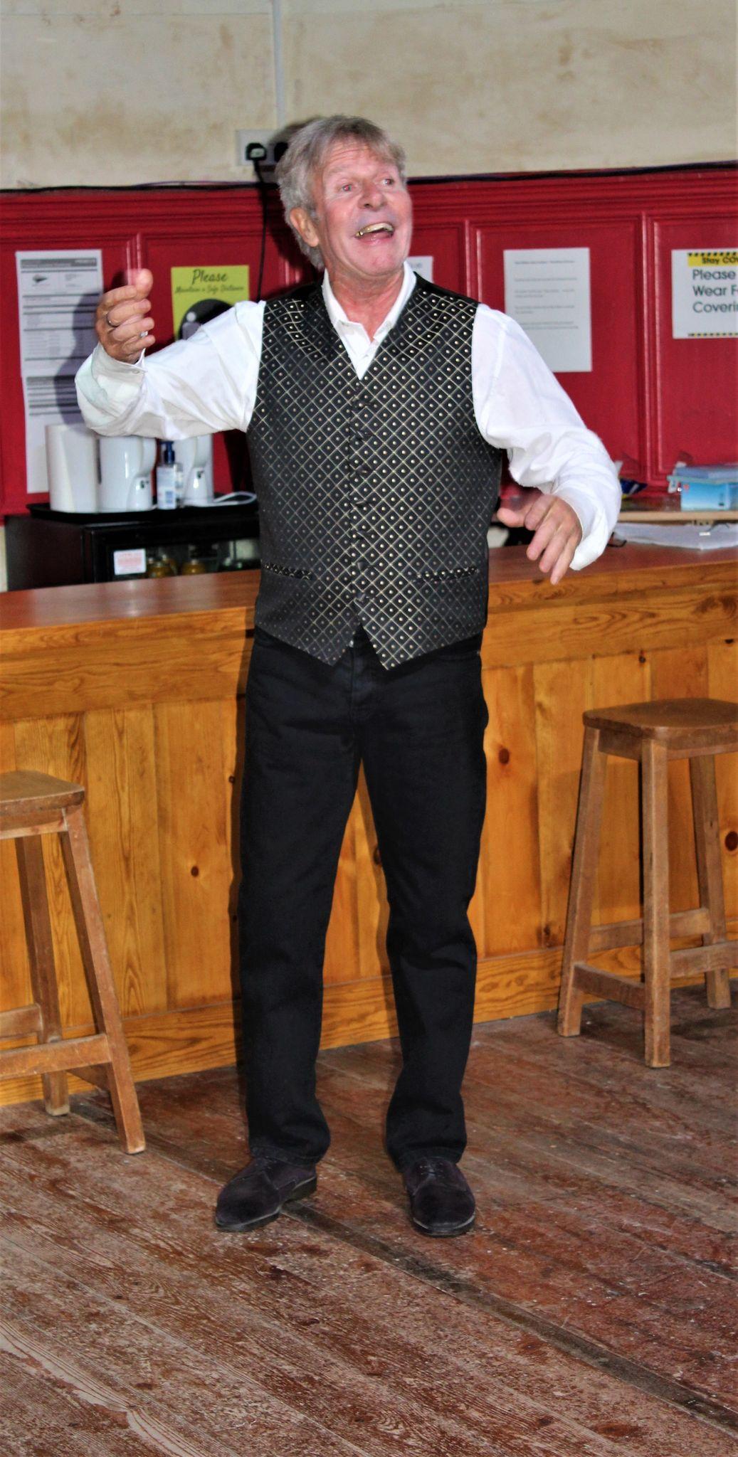 Harry at his bar