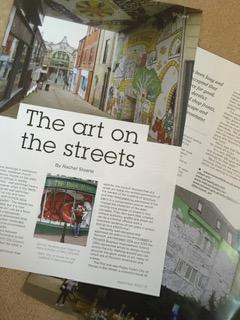 Norwich street art - Suffolk Norfolk Life magazine